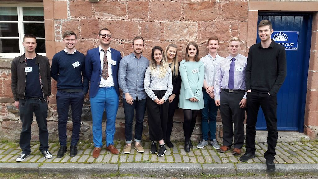 ScotGrad 2017 Graduate cohort group photo
